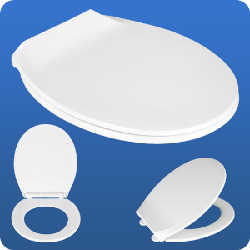wenko kos premium wc sitz toilettensitz mit absenkautomatik. Black Bedroom Furniture Sets. Home Design Ideas